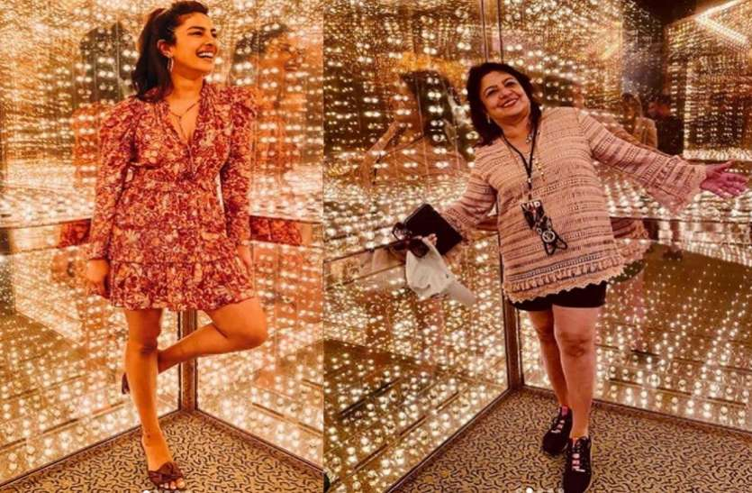 Priyanka Chopra's mother's hot look went viral, was seen in short pants and top