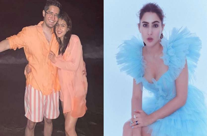 Is the entry of boyfriend in Sara Ali Khan's life?  picture with man went viral