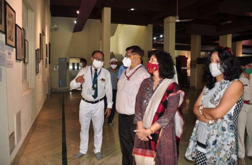 WEST BENGAL NEWS--जीएम पहुंचे टैगोर से जुड़े गीतांजलि संग्रहालय