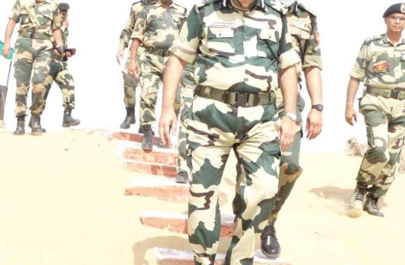 सीसुब अधिकारियों ने किया सरहद का दौरा, सुरक्षा प्रहरियों की हौसला अफजाई की