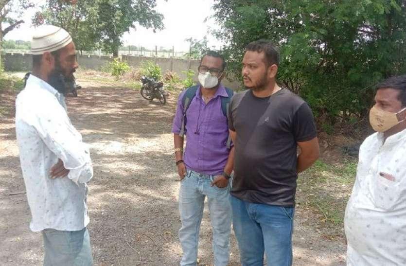 समर्थन मूल्य पर 3 दिन में 15 किसानों से खरीदी 122 क्विंटल मूंग