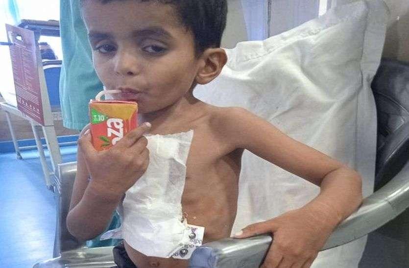 अब नहीं फूलेगा चार वर्षीय अनिल का दम, लगा सकेगा दौड़