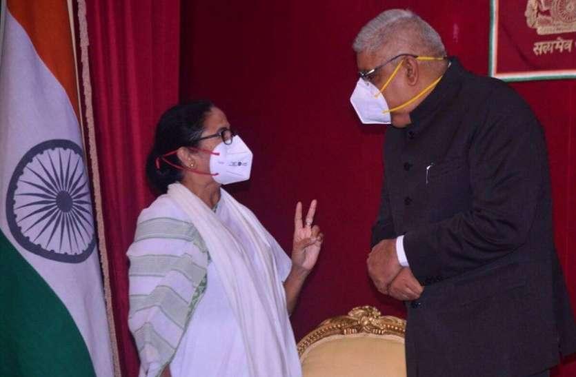 West Bengal : विपक्ष के हंगामे के बीच अधूरा अभिभाषण छोड़ सदन से चले गए राज्यपाल