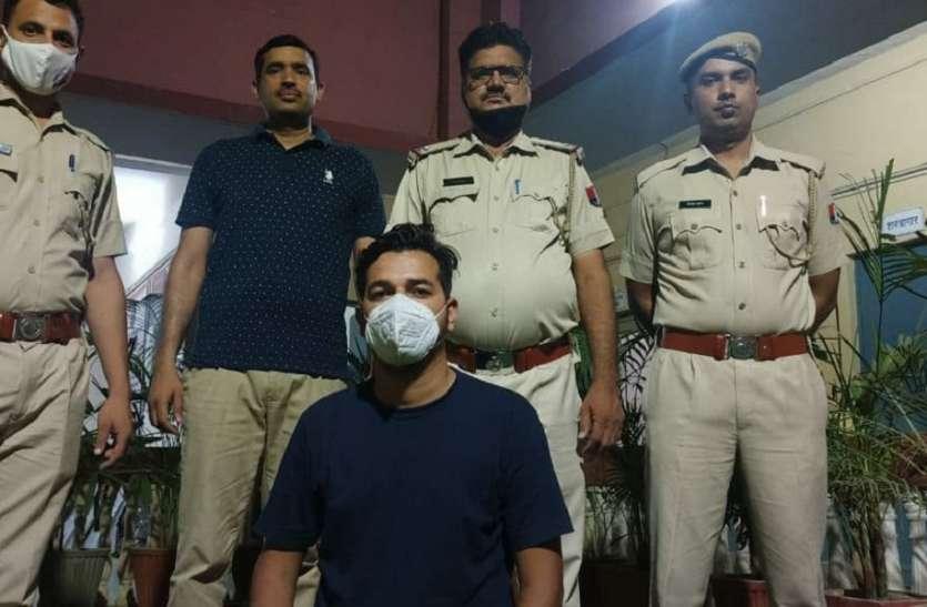वसूली के लिए गैंगस्टर को ठेका दिलवाने का आरोपी अजय रिमांड पर लिया, धोलू की तलाश