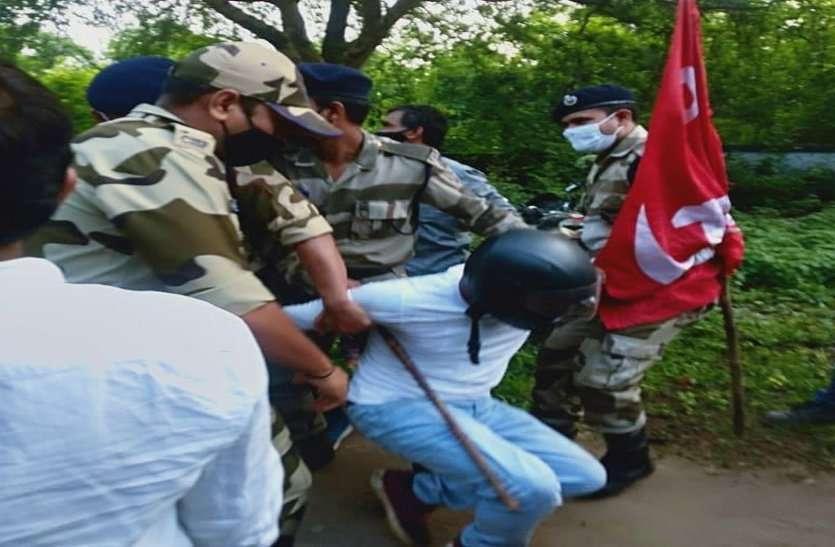 CISF के अधिकारी ने हड़ताली BSP कर्मियों से कही ऐसी बात, सुनकर आगबबूला हो गए कर्मी, कहा ये छत्तीसगढ़ है...