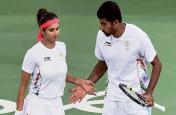 विंबलडन: सानिया मिर्जा और रोहन बोपन्ना ने जीता भारतीय जोड़ियों का मुकाबला