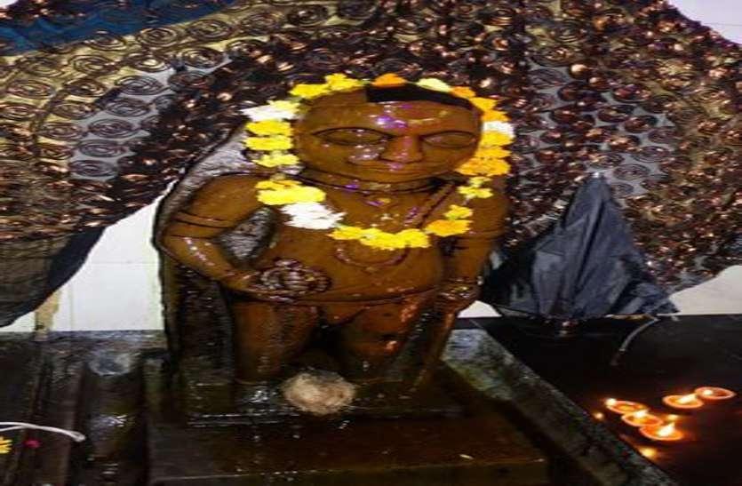 श्रीहनुमान ने रावण की कैद से निकाल फेंका था शनि को, ग्वालियर में हुए विराजमान