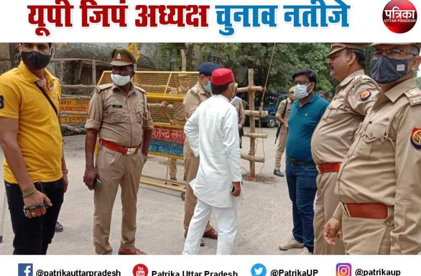 UP Jila Panchayat Adhyaksh Live Update: कहीं CCTV camera खराब, कहीं सदस्यों को किडनैप करने का लगा आरोप