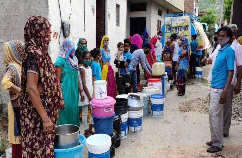 पानी की समस्या से त्रस्त अलवर जी जनता, कलक्टर से गुहार भी लगा चुके, लेकिन नहीं हो रहा समाधान