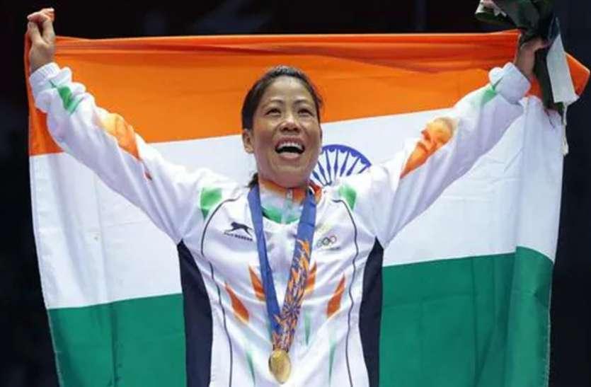 टोक्यो ओलंपिक के लिए ध्वजवाहक चुने गए मैरी कॉम, मनप्रीत