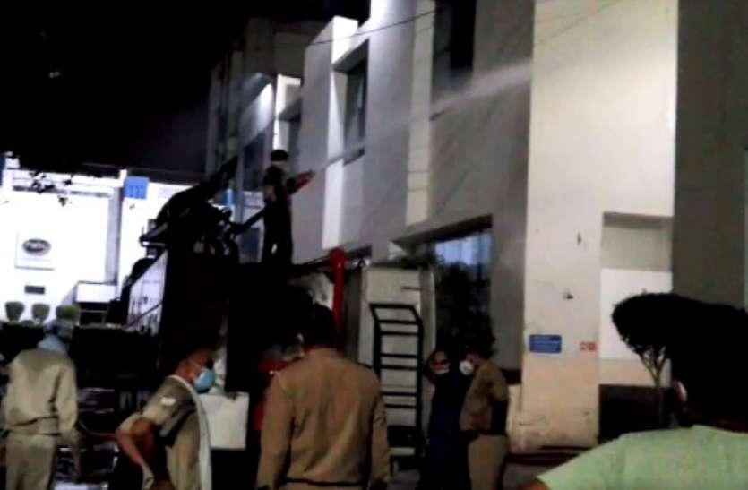 पारस दूध के प्लांट में अमोनिया गैस का रिसाव, घंटों तक अंदर फंसे रहे 25 कर्मचारी