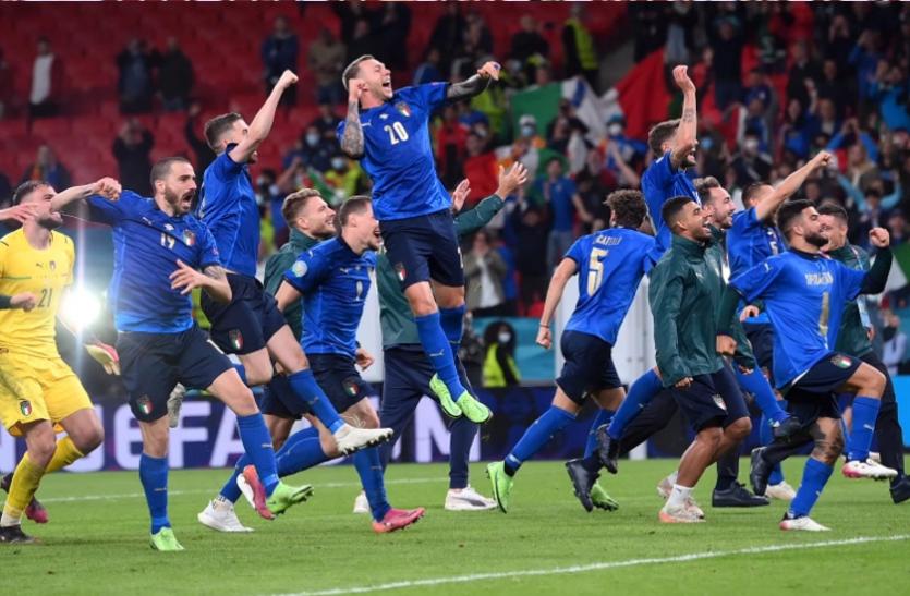 यूरो कप: फाइनल में पहुंची इटली, पेनल्टी शूटआउट में हराया स्पेन को