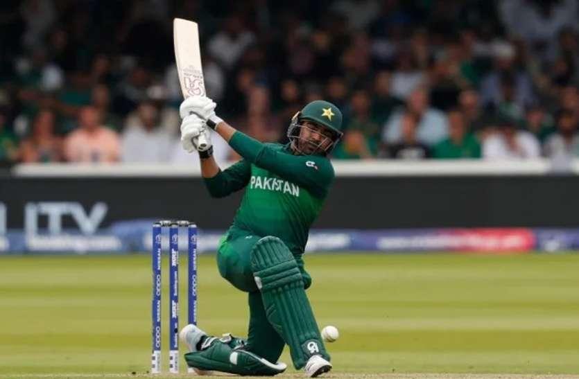 हैरिस सोहेल इंग्लैंड के खिलाफ वनडे सीरीज से बाहर