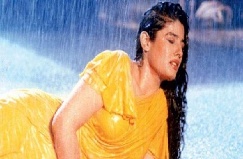 Raveena Tandon shot the song 'Tip-Tip Barsa Pani' with Akshay Kumar in high fever