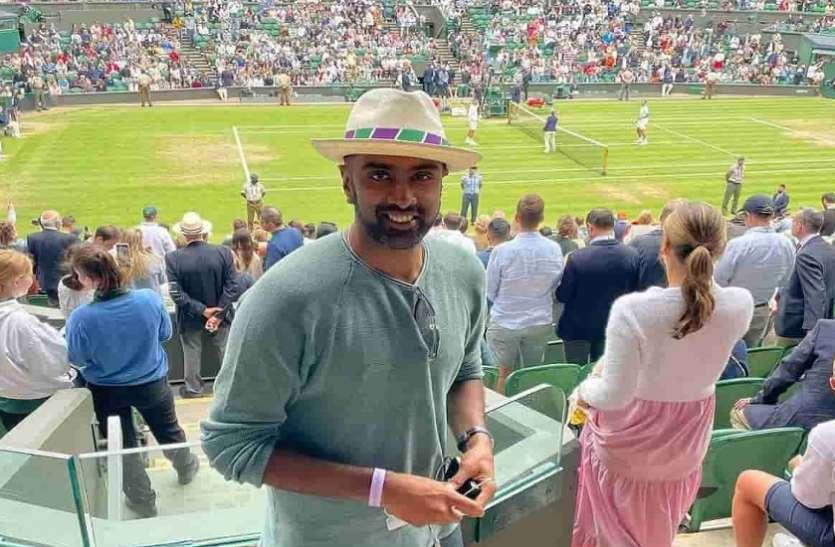 इंग्लैंड के खिलाफ 5 मैचों की टेस्ट सीरीज से पहले फुटबॉल मैच का आनंद ले रहे हैं भारतीय क्रिकेटर