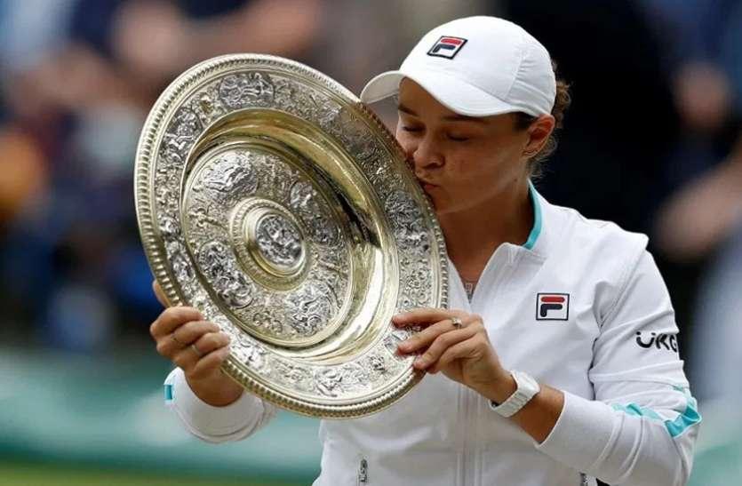 विंबलडन: बार्टी ने प्लिस्कोवा को हराकर जीता महिला एकल खिताब