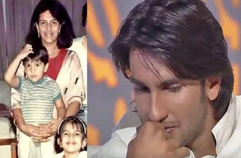 Ranveer Singh didn't want his mother to watch 'Bajirao Mastani'