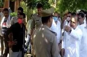 सपा के पूर्व विधायक ने पुलिस से की अभद्रता, देख लेने की दी धमकी