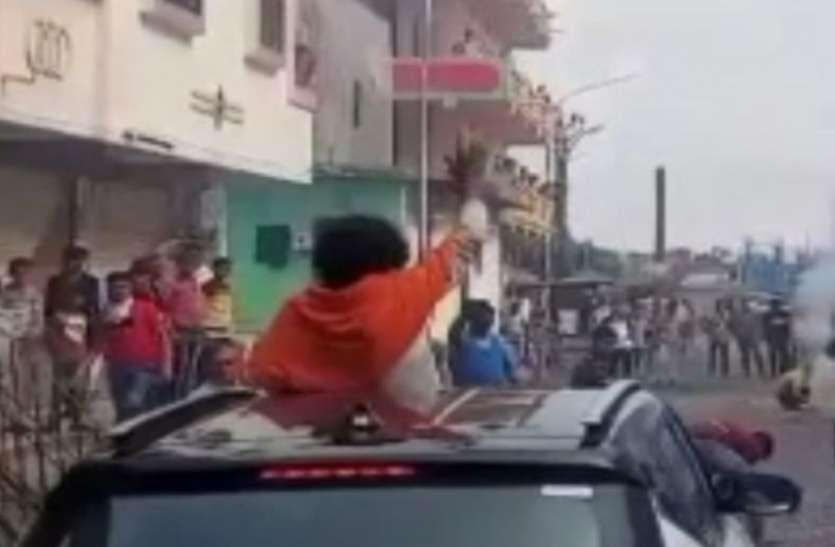OMG :  जेल से छूटे एक और बूटलेगर के भव्य स्वागत वीडियो वायरल