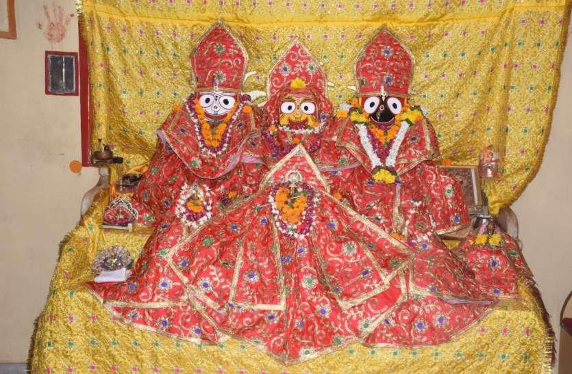 नौ दिनों तक मंदिर से बाहर रहते है ठाकुरजी, रूठी लक्ष्मी को मनाएंगे