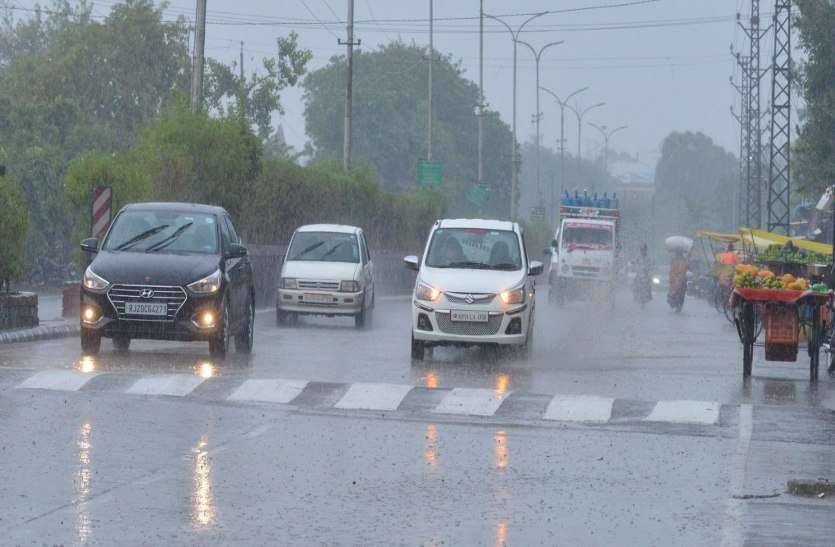 कोटा में चली धूलभरी हवा, केशवरायपाटन में बरसे मेघ