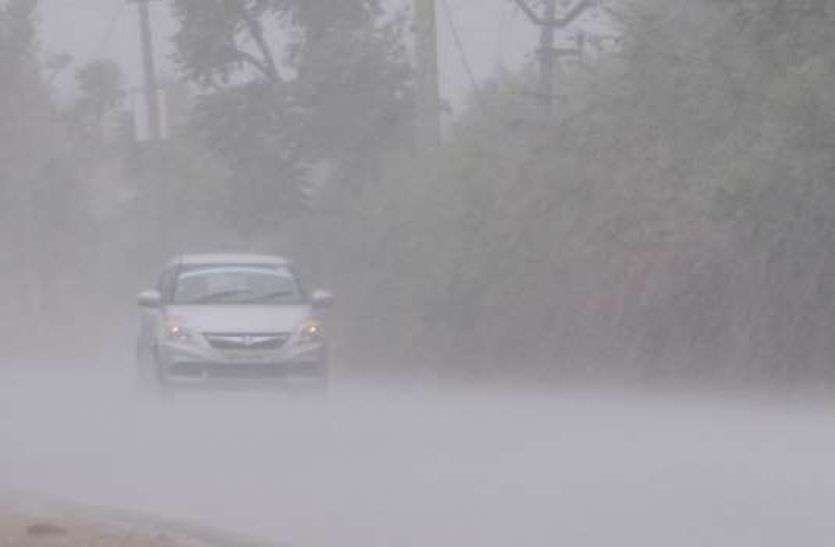 राजस्थान में आज भी बरसेंगे बादल, इन जिलों में अलर्ट जारी