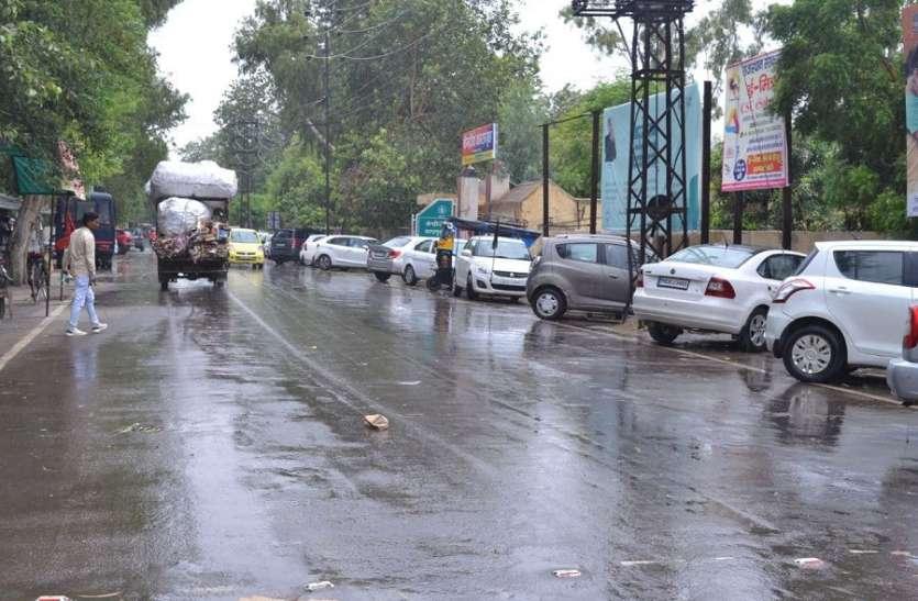 2 एमएम बारिश से दो डिग्री गिरा तापमान, भीषण गर्मी व उमस से मिली कुछ राहत