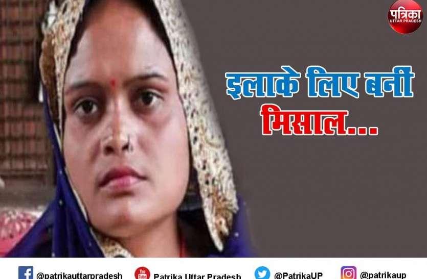 मजदूर की पत्नी गीता बनी ब्लॉक प्रमुख, सभी हैं हैरान