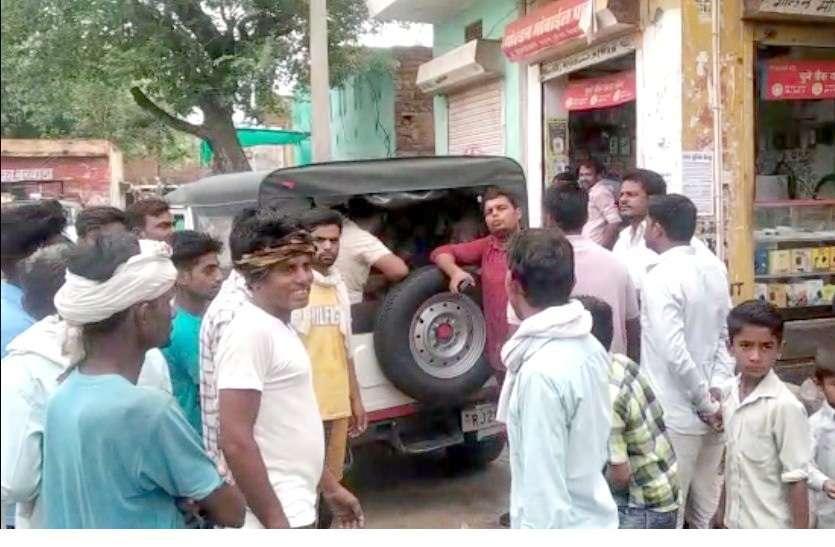 कोटा में फायरिंग कर फरार हुए दो आरोपियों को स्थानीय पुलिस की मदद दबोचा