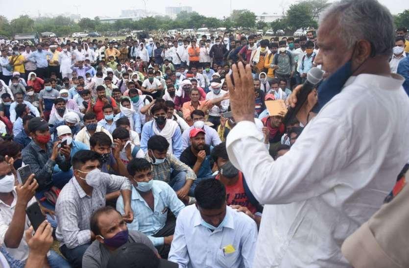 बिजली ने दिया करंट तो सांसद किरोड़ीलाल मीणा ने सैकड़ों कर्मचारियों के साथ किया कूच
