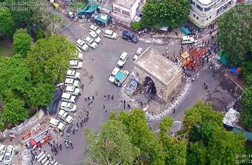 अहमदाबाद शहर के ८ थाना क्षेत्रों में लगा कफ्र्यू सुबह ११.३० बजे ही हटाया