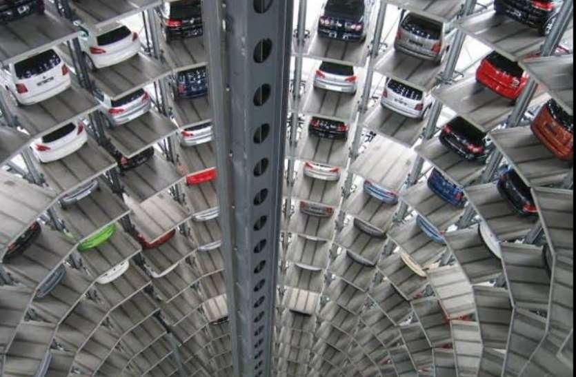 यूपी के 17 शहरों में बनेगी मल्टी स्टोरी पार्किंग