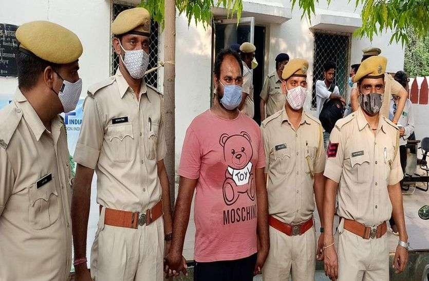 चार पिस्टल व छह जिंदा कारतूस बरामद, एक आरोपी गिरफ्तार