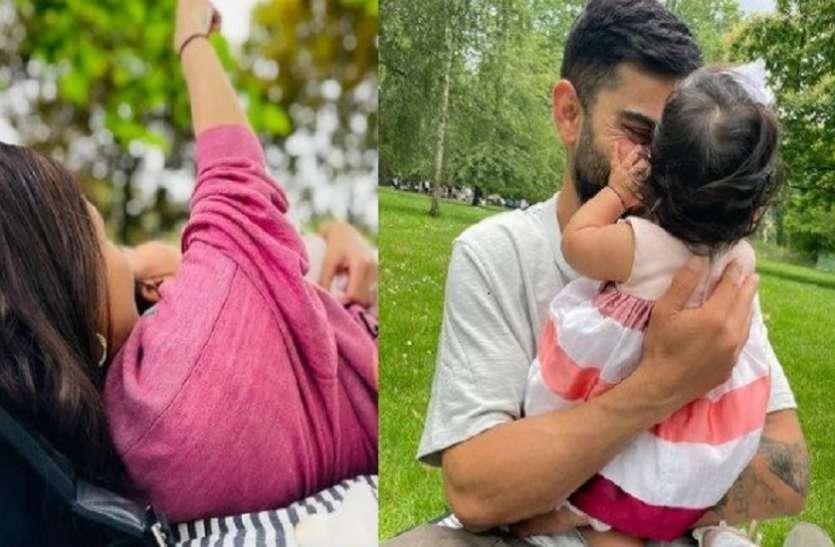 6 महीने की हुई अनुष्का-विराट की नन्ही परी 'वामिका', शेयर की बच्ची संग दिल छू लेने वाली तस्वीरें