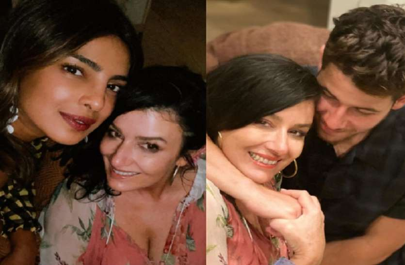 priyanka chopra shares photos with her mother in law on her birthday