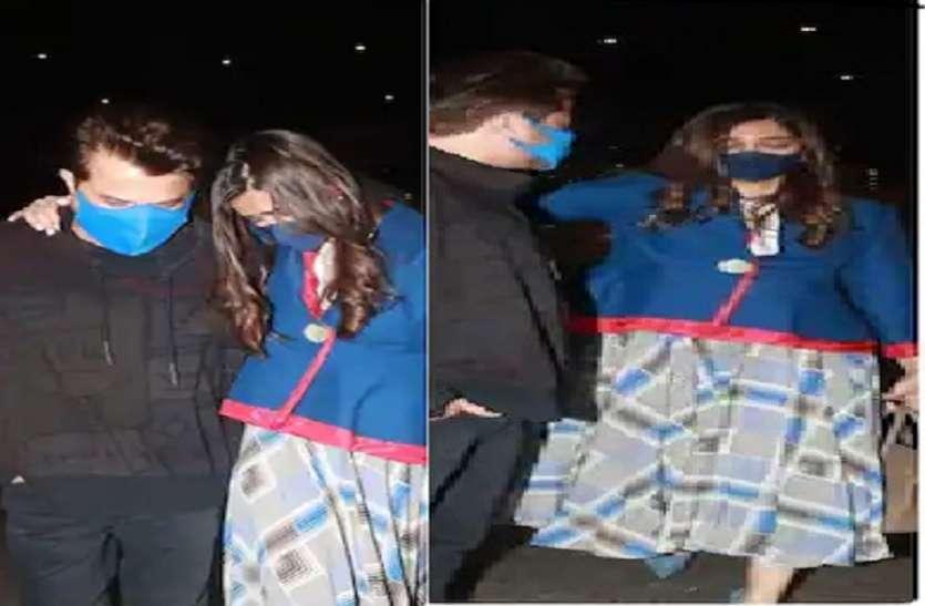 लंदन से देर रात भारत लौटी सोनम कपूर का एयरपोर्ट पर हुआ बुरा हाल, पापा अनिल कपूर को देख फूट-फूटकर रोने लगीं एक्ट्रेस