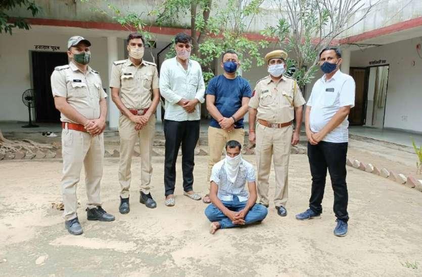 एटीएम उखाडऩे का एक और आरोपी गिरफ्तार, 10 लाख रुपए बरामद