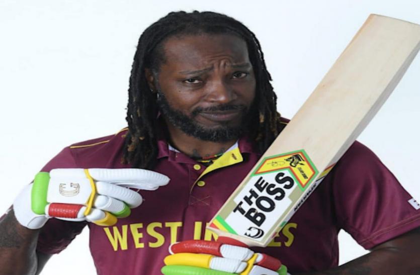 क्रिस गेल ने कहा- 'आईसीसी नहीं मैं हूं क्रिकेट का असली बॉस'