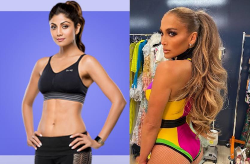 Shilpa Shetty Wants Jennifer Lopez's Body, See JLO Photos, Videos
