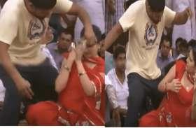 जब डांस शो के दौरान Sapna Choudhary के साथ झेड़छाड़ करने लगा मनचला, भड़क गईं सेलेब्रिटी सिंगर