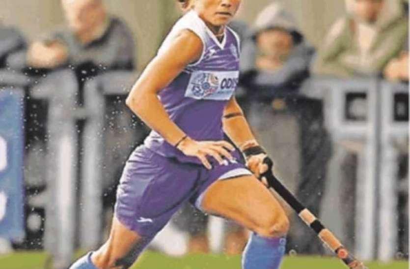 टोक्यो ओलंपिक में भारतीय महिला हॉकी टीम का हिस्सा बनी फारवर्ड खिलाड़ी वंदना