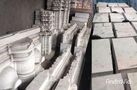 Ram Mandir : राम मंदिर में लगेंगे मकराना सफेद मार्बल पर बने सुंदर दृश्य नक्काशी के 30 चौखट