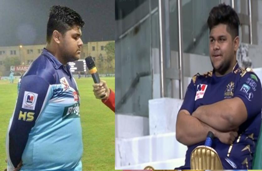 110 किलो के पाकिस्तानी क्रिकेटर आजम खान ने किया इंटरनेशनल डेब्यू, वजन को लेकर उड़ा मजाक