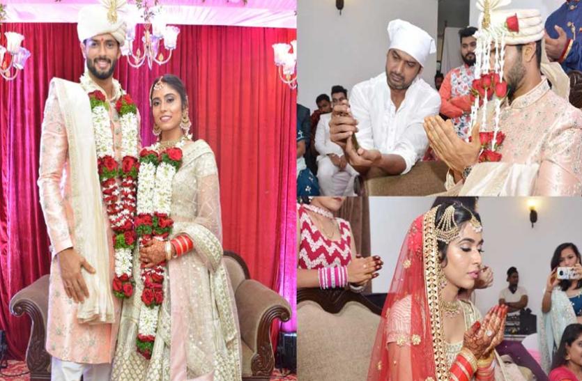 क्रिकेटर शिवम दुबे ने गर्लफ्रेंड अंजुम खान से रचाई शादी, दुआ मांगते देख फैंस ने किया ट्रोल