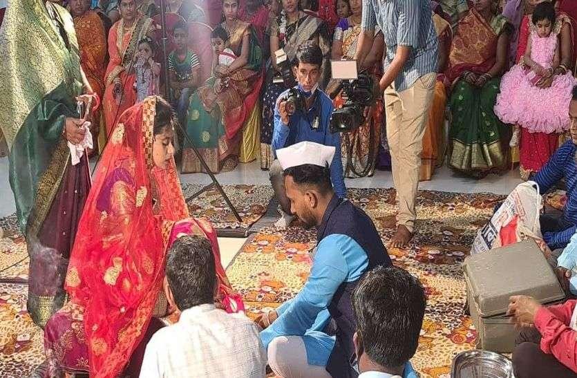 ek vivah aisa bhi मायका बना ससुराल, जेठ ने किया बहू का कन्यादान