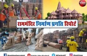 Ayodhya Ram Mandir : गर्भगृह की चौखट पर मकराना के सफेद मार्बल पर माथा टेकेंगे भक्त