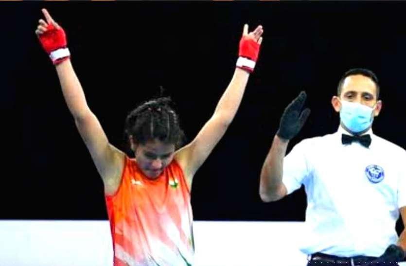 यूथ नेशनल बॉक्सिंग चैंपियनशिप में विश्व चैंपियन गीतिका की शानदार शुरुआत
