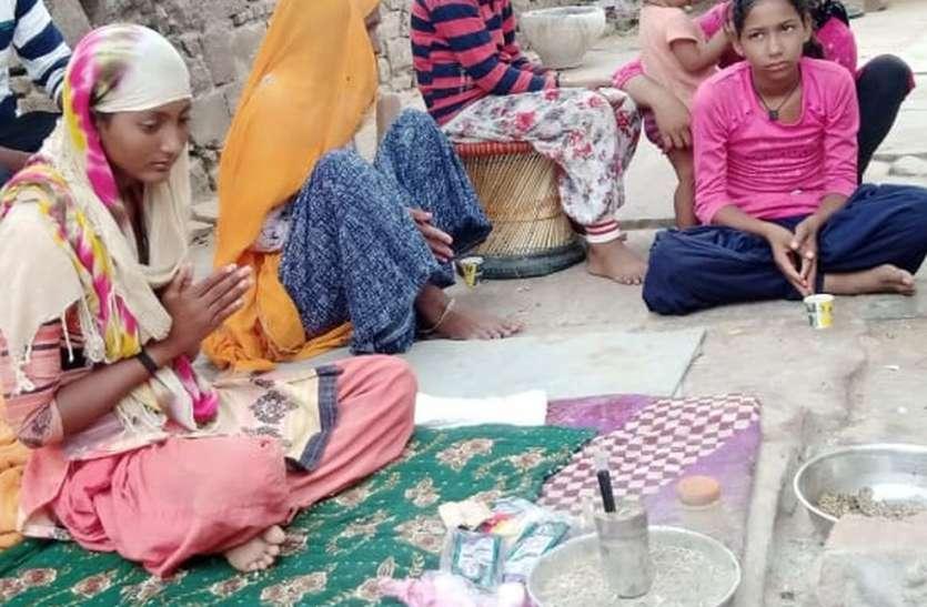बारिश के लिए अन्न-जल त्याग 'वर्षा' कर रही इंद्रदेव की साधना