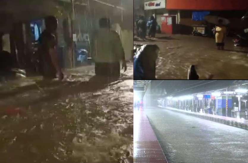 मुंबई में कई घंटों तक लगातार भारी बारिश, राजस्थान, यूपी, दिल्ली, हरियाणा में भी तेज बारिश की चेतावनी