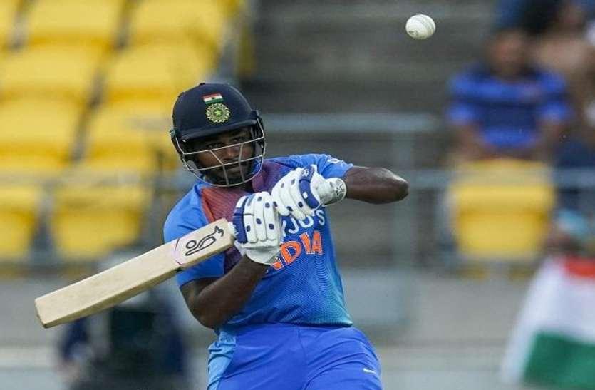 संजू सैमसन घुटने में चोट के कारण श्रीलंका के खिलाफ पहले वनडे से बाहर